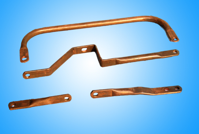copper tube with bending