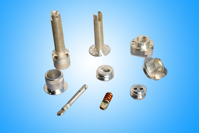 machining parts with silver plating