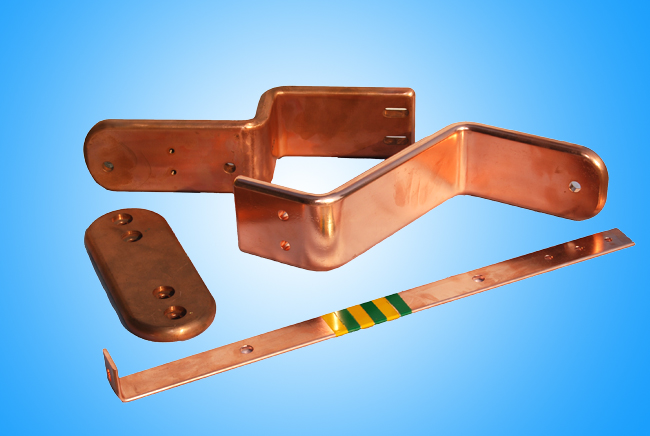 bending copper parts